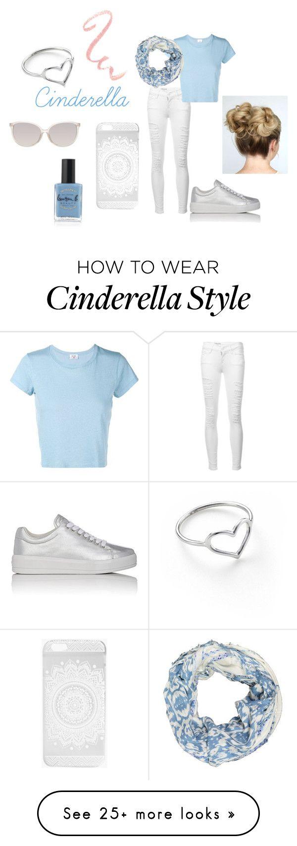 """Modern Cinderella"" by retrochic394 on Polyvore featuring Frame, RE/DONE, Prada Sport, Lauren B. Beauty, Linda Farrow, LA77, Boohoo, Jordan Askill, modern and ModernPrincessesByMolly"