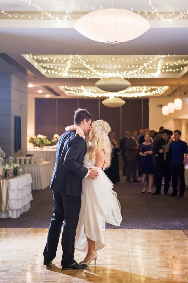 First dance as husband and wife!   Simply beautiful!