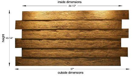 25 best ideas about 4x8 wood paneling sheets on pinterest for Faux wood siding