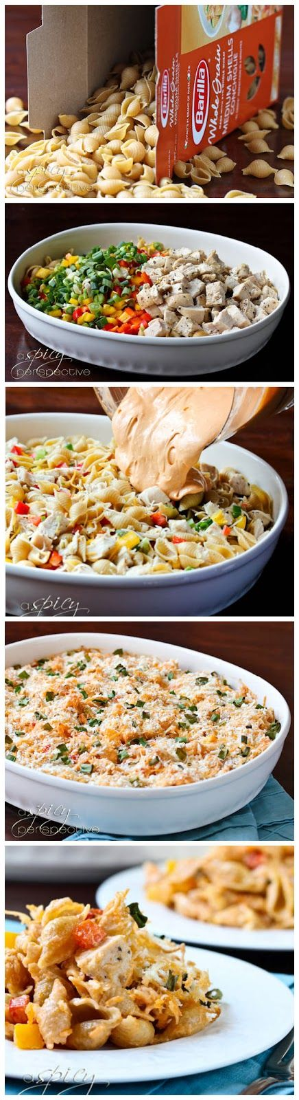 Buffalo Chicken Mac and Cheese ~ This Buffalo Chicken Mac and Cheese is incredible. INCREDIBLE. With tender chunks of chicken, bits of sweet...