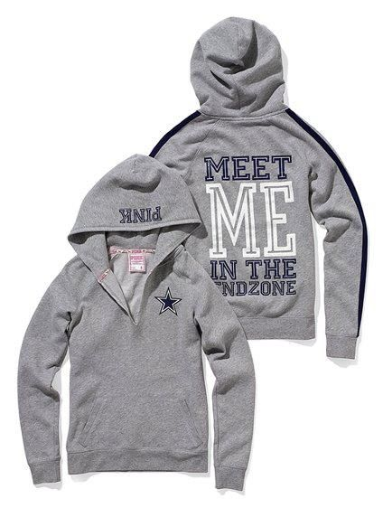 Dallas Cowboys VS Pink Hoodie