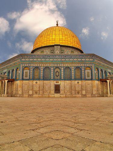 Dome of the Rock, Jerusalem - by Suleiman de magnificent