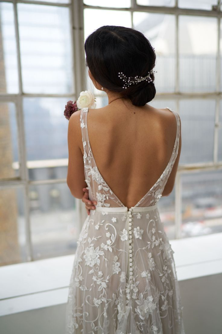 Anna Campbell Bridal Amelie Dress Nyc Bridal Week 2018 Wedding Dresses Wedding Gowns Lace Anna Campbell Bridal