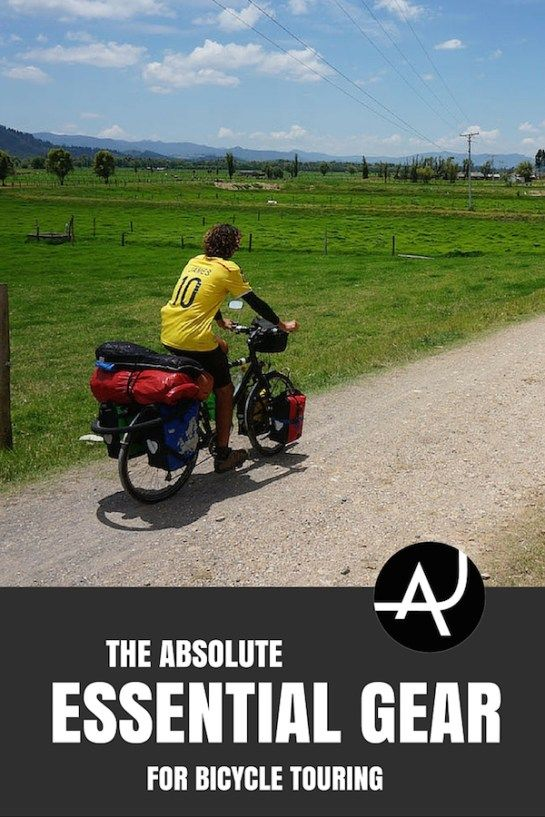 The Absolute Essential Bike Touring Gear For Bicycle Tourers