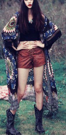 Women's Blue Aztek Tribal Boho Chiffon Kimono Cardigan Shrug Tunic
