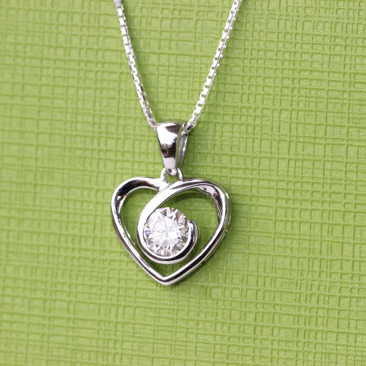 cable pendant products ct necklace solitaire white kt celestial gold p premier moissanite chain
