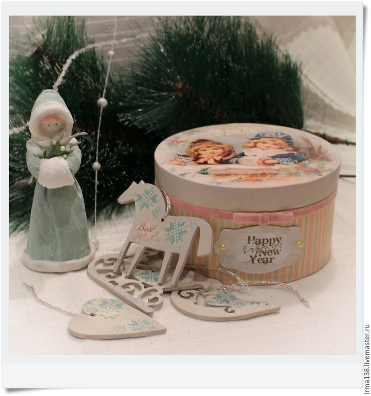 """Купить Короб-шкатулка """"Винтажная"""" - комбинированный, шкатулка, шкатулка декупаж, шкатулка для подарка, упаковка для подарка"""