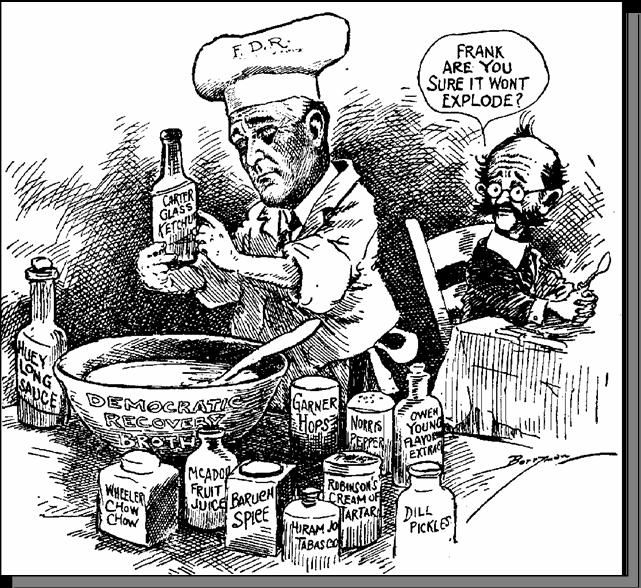 fdr s new deal effective or not Outlining the new deal program  that situation in that crisis did not call for any complicated consideration of economic panaceas or fancy plans.