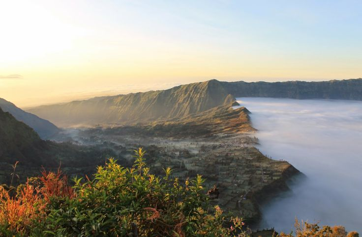 Sunrise at Mount Bromo, East Java, Indonesia, volcano #VirtualTourist