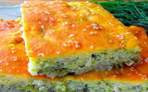 Приготовьте пирог скапустой изжидкого теста понашим рецептам! Накефире или намайонезе,…