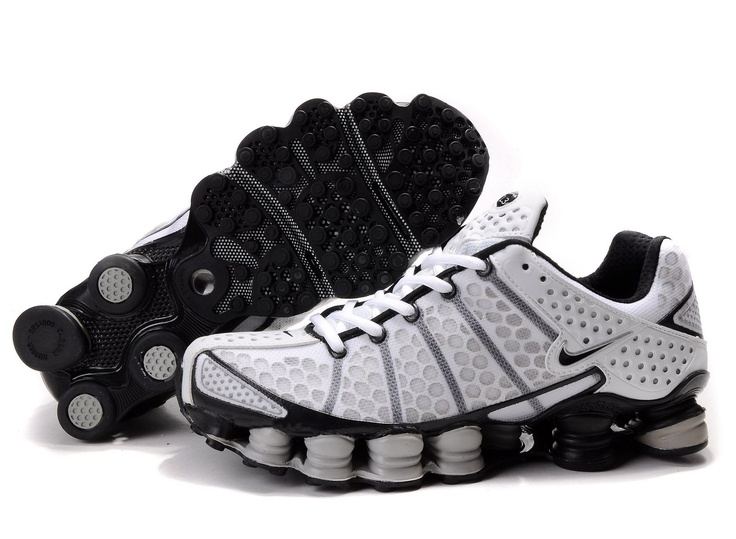 online retailer bc164 ccb1b nike shox agile leather trainers