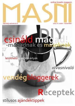 Masni Magazin - 2012 Karácsony