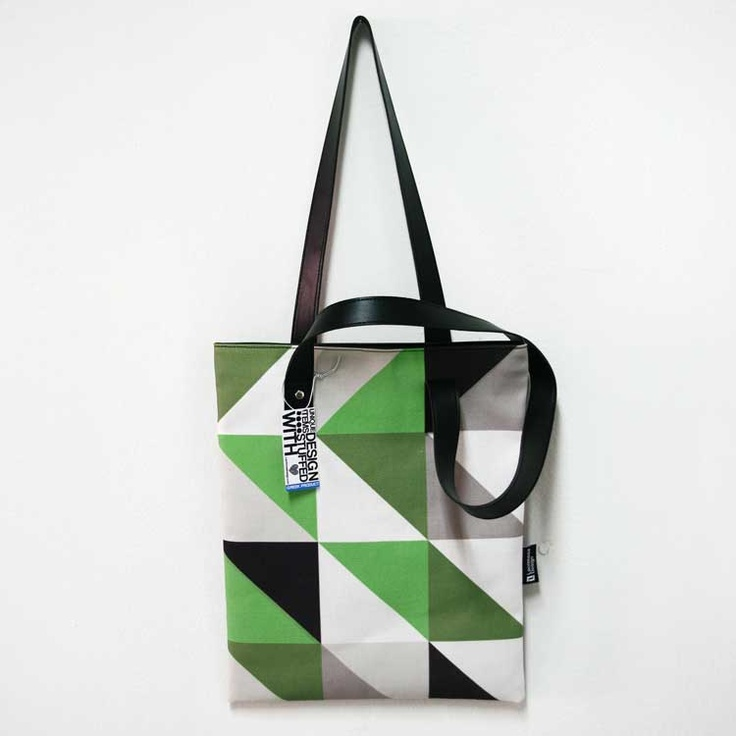 """""""Reflections of avocado"""" A wonderful bag in avocado and emerald hues, inspired from water waves and reflections. It's perfect for every occasion."""