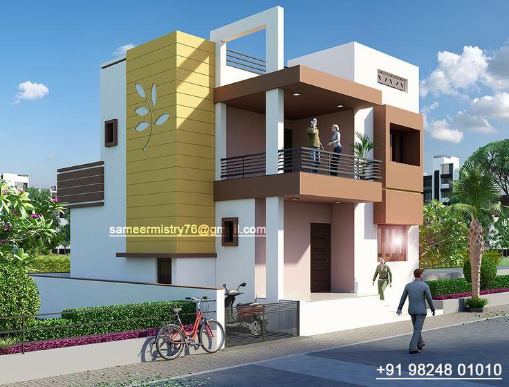8 best bungalow colour images on pinterest modern homes - Apartment exterior color schemes ...