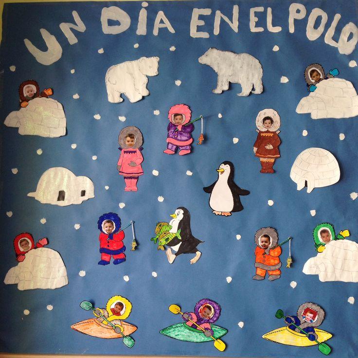 Decoracion Invierno Manualidades ~ Murales on Pinterest