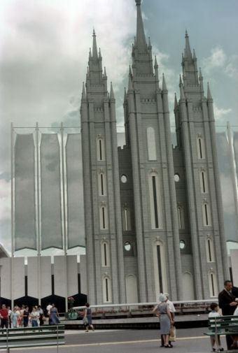 Mormon Pavilion at 1964 World's Fair