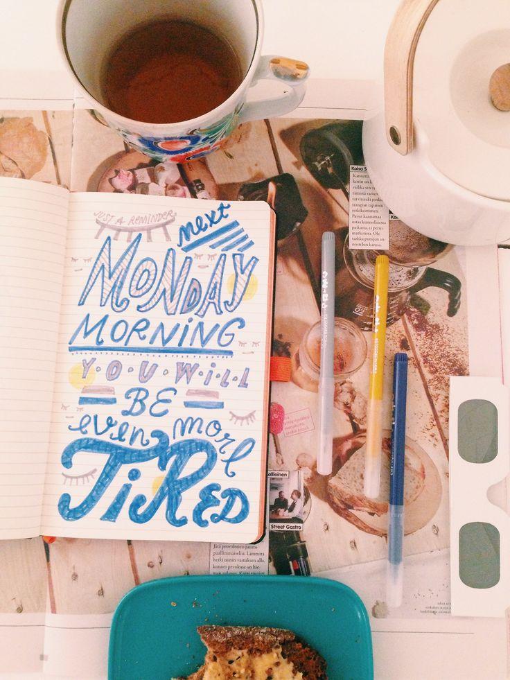 Morning Drawing : Photo