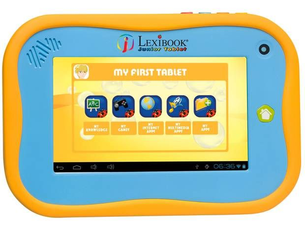 1. Lexibook Junior Tablet This might look basic, but it's a proper tablet - The Independent