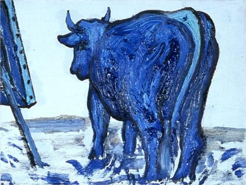 Leccare - Enzo Cucchi, 2007, Wikipaintings