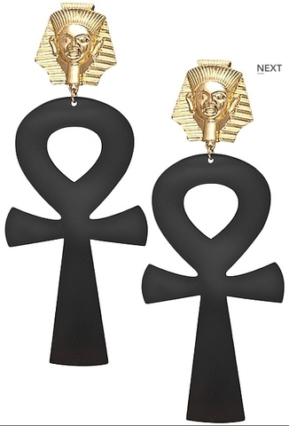 Egyptian ankh goddess earrings!!!  $20 http://www.wildst.com/collections/accessories/products/egyptian-ankh-goddess-earrings-black WE SHIP WORLDWIDE!!!