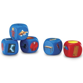 Alphabet Picture Cubes - Sale - Teachers - Learning Resources®