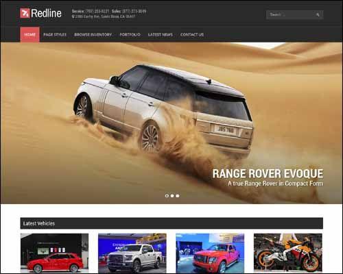 coches online; themes de wordpress para la venta de coches online