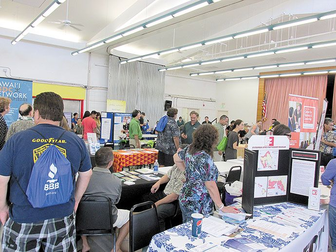 The Honolulu Community College Fall Small Business Fair Returns Aug 8 PHOTO FROM MELANIE MARTIN