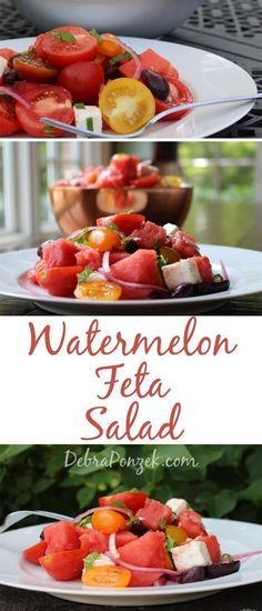 Sumer is great for grilling and eating outdoors, but it's also perfect for a watermelon feta salad. Salads make the perfect grilling side dishes.