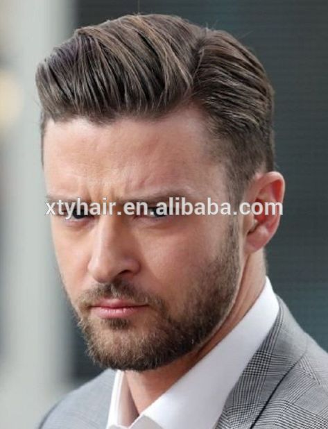 Alibaba express Qingda hair toppers, wolesale hair units, toupet or toupee stock for men