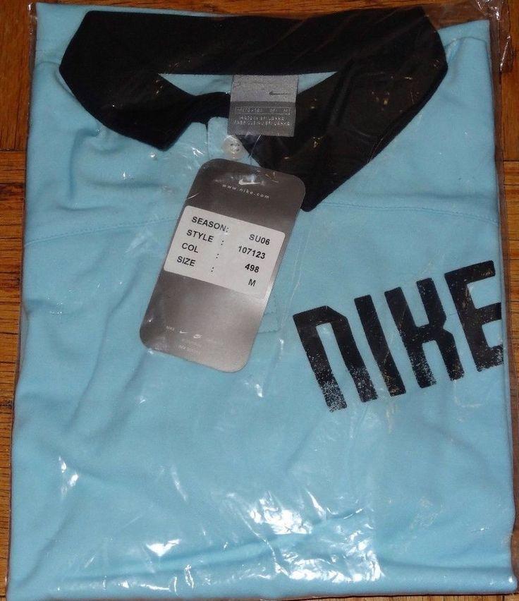 Nike Boys Size M 10 12 Light Blue Polo Golf Tennis Short Sleeve Shirt NWT NEW #Nike #Everyday