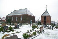 Die weltweit einzige Deichkirche (Carolinensiel)