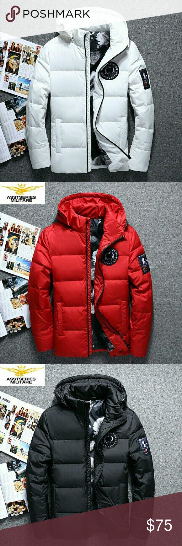 2017 New Winter Coat for Men M/ 165-170cm Suitable for body weight (50kg-60kg) L/ 170-173cm Suitable body weight (56kg-70kg) XL/ 174-175cm Suitable for weight (70kg 80kg) XL/ 176-180cm Suitable for weight (75kg 85kg)  3XL/ 176-180cm Suitable for weight (bok- 95kg) Jackets & Coats Raincoats