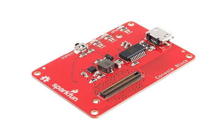 Módulo Console para Intel® Edison