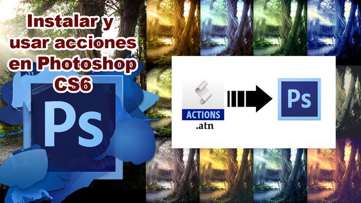 Conoce como editar fotos automáticamente gracias a las Acciones de Photoshop CS6. #PS #Photoshop #CS6 #Acciones #Fotos #imagen downloadsource.es