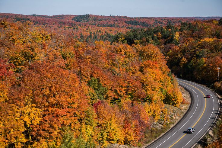 fall colours getaways ontario