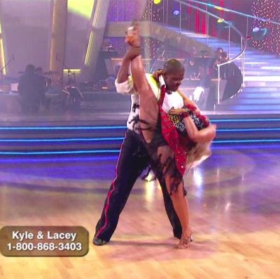 DWTS Season 11 Fall 2010 Kyle Massey and Lacey Schwimmer