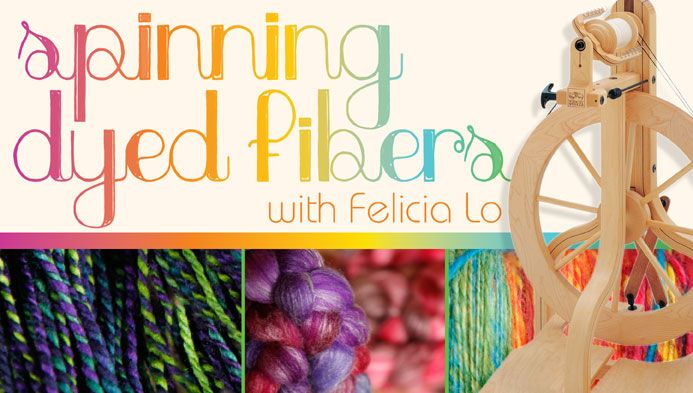 Spinning Dyed Fibers