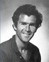 George W. Bush in 1967, looking like he's auditioning for Seven Brides for Seven Brothers.