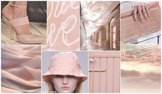s/s 2016 women's accessories color, Rose Champagne