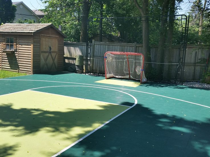 32 Best images about Backyard Basketball Courts on ...