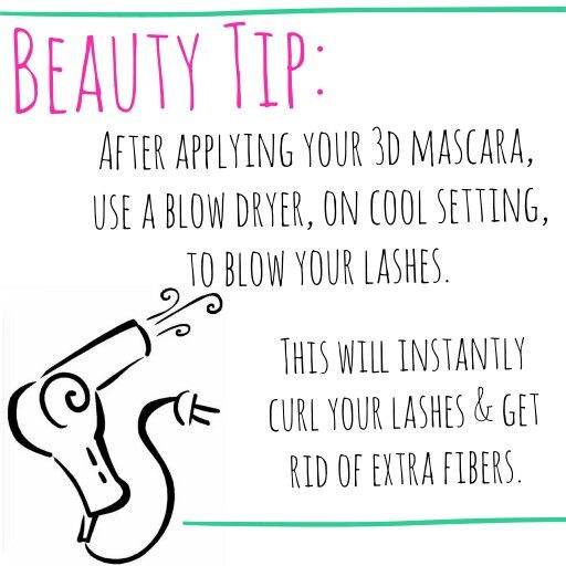 best #beautytip I've ever gotten. I do this daily w/my #Younique 3D Fiber Mascara! buy here: WWW.YOUNIQUEPRODUCTS.COM/GENEVATHRASHER
