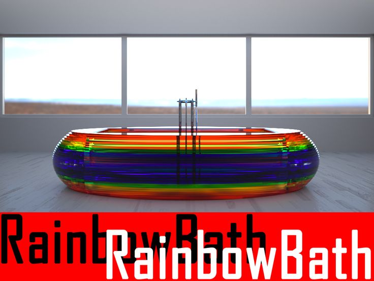 RainbowBath by antonellochecco. Check it out on Desall.