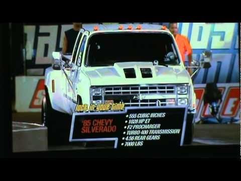 Dually from Hell on Pass Time Speed TV Steve Chism 85 Chevy Silverado Dually Pass Time