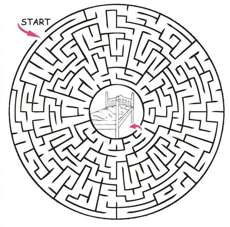 printable maze puzzles - Google Search | Mazes for kids ...