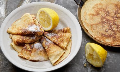 Ale and Wheatgerm Pancakes from The Guardian. http://punchfork.com/recipe/Ale-and-Wheatgerm-Pancakes-The-Guardian