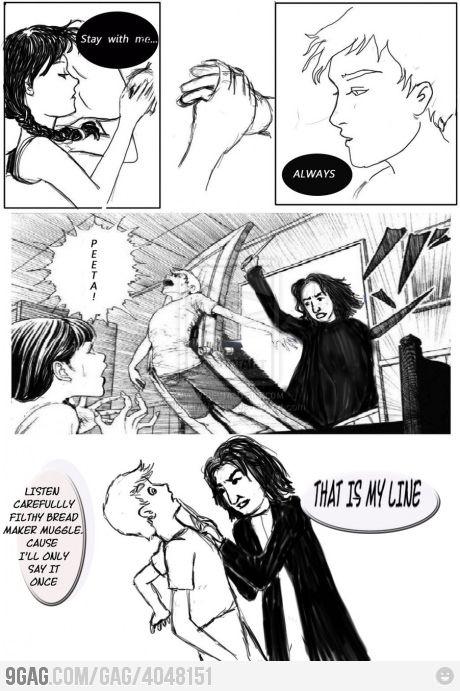 Hunger Games Vs Harry Potter