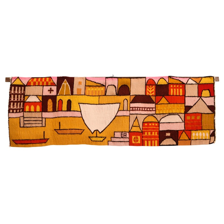 """Evelyn Ackerman """"Canal"""" Tapestries by Era Industries"""