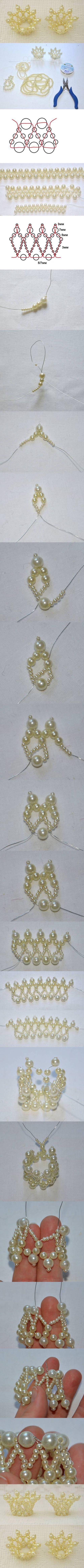 DIY Beads Doll Crown DIY Projects / UsefulDIY.com on imgfave