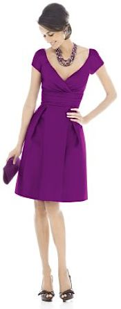Alfred Sung Bridesmaid Dresses | D500 | Want it in 'twirl'