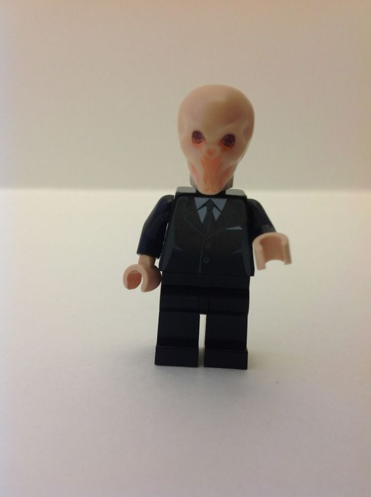 Custom Doctor Who Silent One from the Silence made of Lego ...